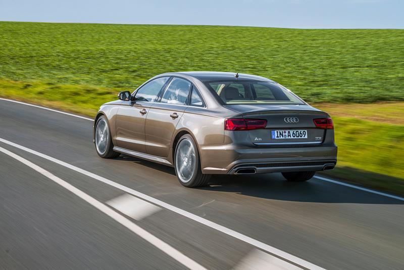 Foto Trasera Audi A6 Berlina 2014
