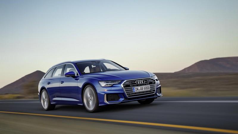 Foto Delantera Audi A6 Familiar 2018