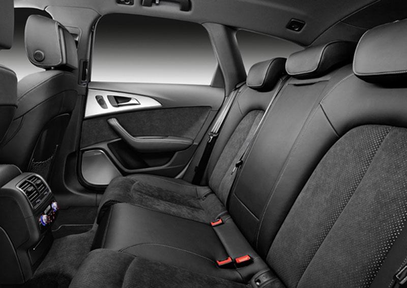 Audi A6, plazas posteirores