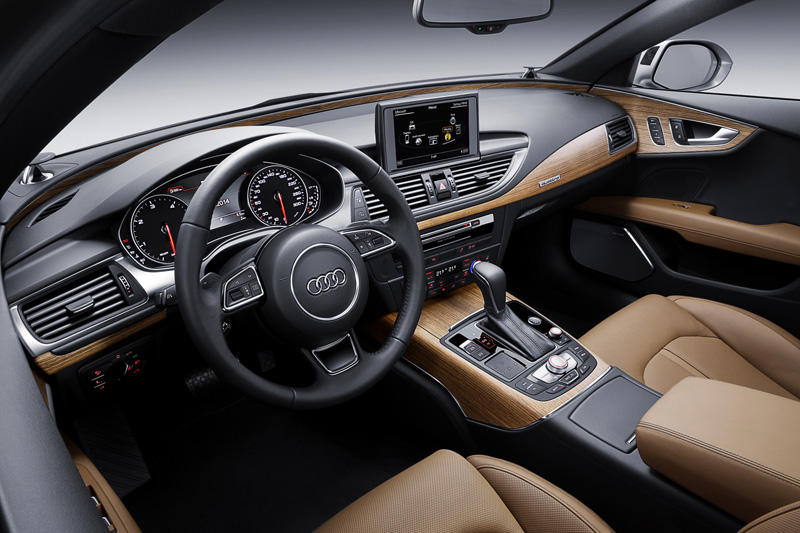Foto Interior Audi A7 Sportback Berlina 2014