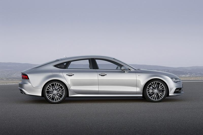 Foto Lateral Audi A7-sportback Berlina 2014