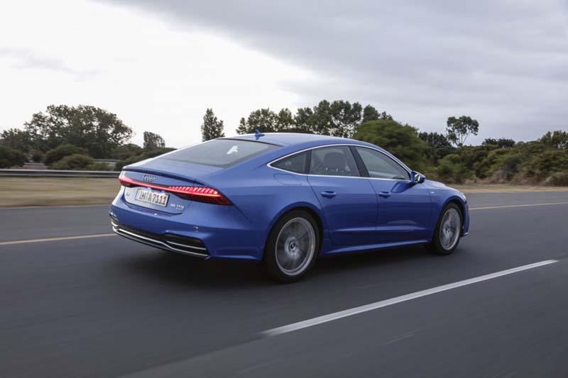 Audi A7 Sportback, foto trasera