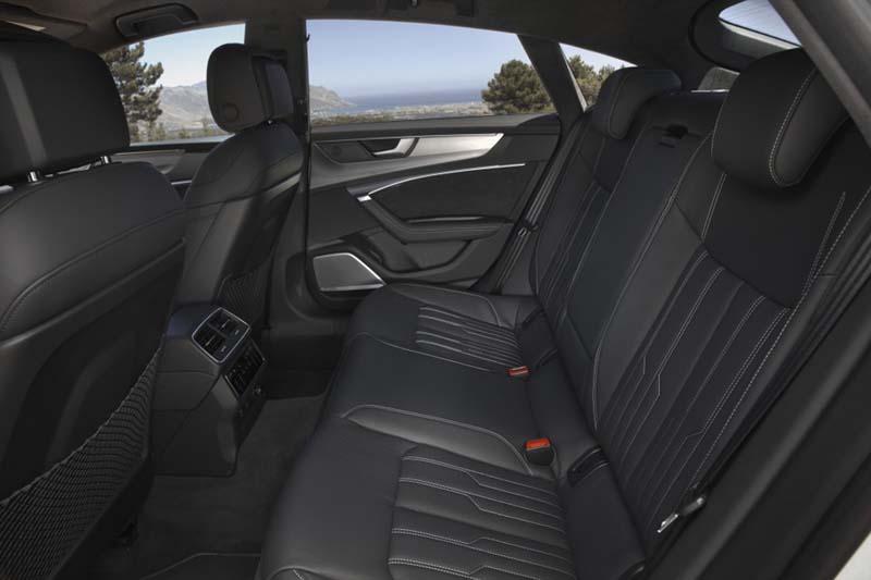 Audi A7 Sportback, foto asientos traseros