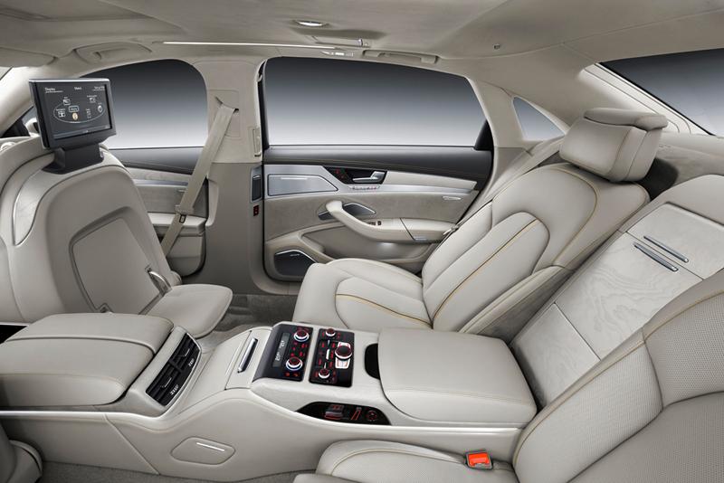 Foto Interiores Audi A8 Berlina 2013