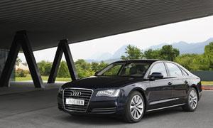 Foto Delantera Audi A8-hibrido 2012