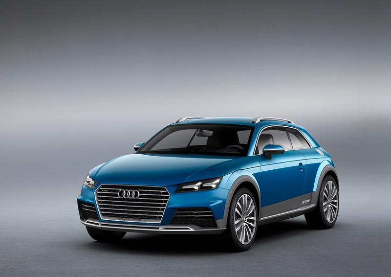 Audi allroad shooting brake en el Salón de Detroit 2014