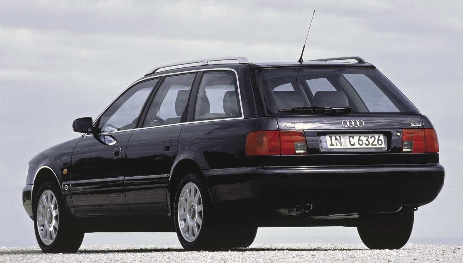 Descargar 1024x1024 Coches Vehículos Automóviles: Foto Audi A6 1994 Audi Coches-historicos