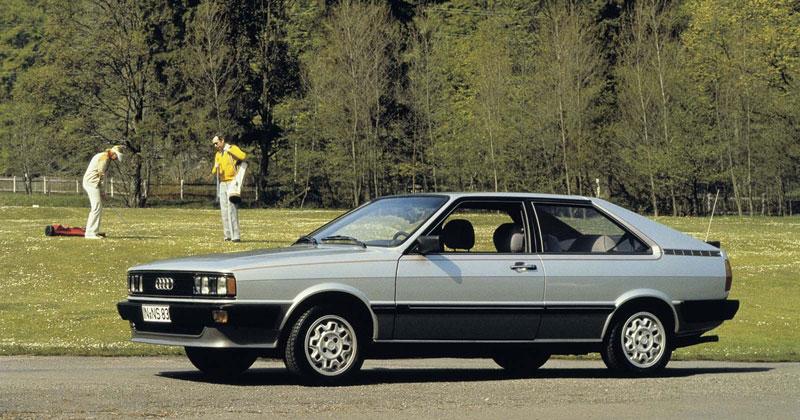 Audi coupe 1982