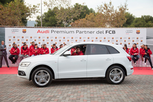 Audi FC Barcelona 2012