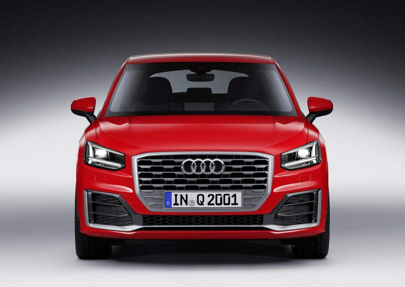 Audi Q2 delantera