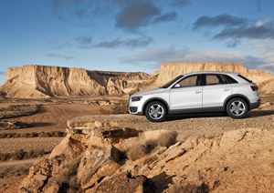 Audi Q3, análisis asientos delanteros