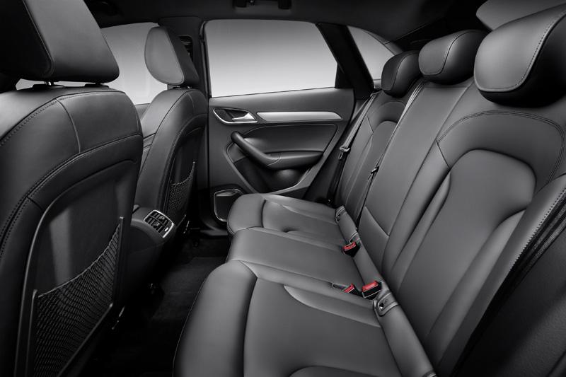 Asientos posteriores Audi Q3