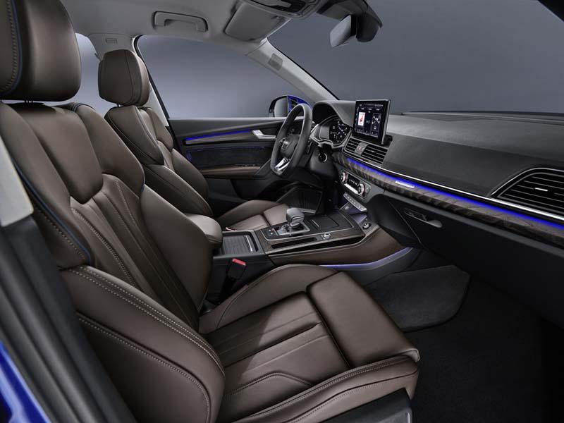Foto Interiores Audi Q5 Sportback Suv Todocamino 2020