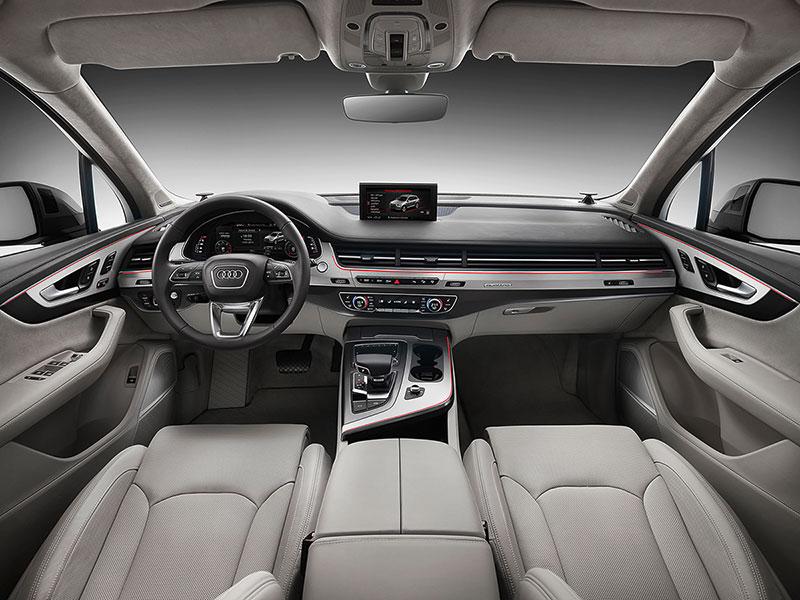 Foto Interiores Audi Q7 Suv Todocamino 2015