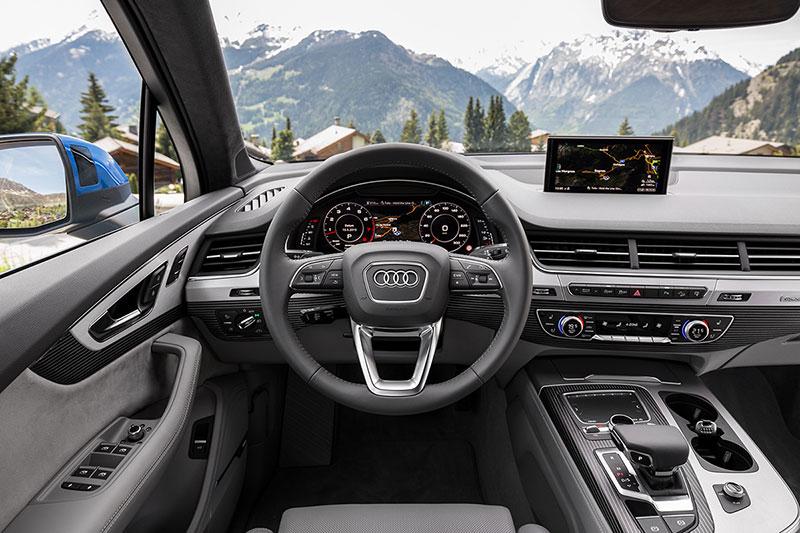 Foto Salpicadero Audi Q7 Suv Todocamino 2015