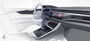 Foto Interiores (1) Audi Q8-concept Concept 2017