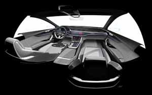 Foto Interiores (2) Audi Q8-concept Concept 2017