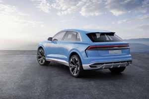 Foto Trasera Audi Q8-concept Concept 2017
