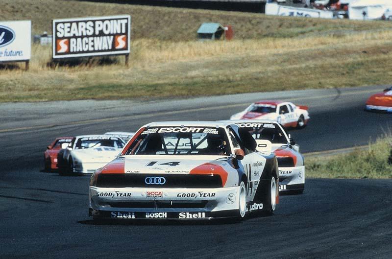 Foto Competicion Audi Quattro 40 Aniversario