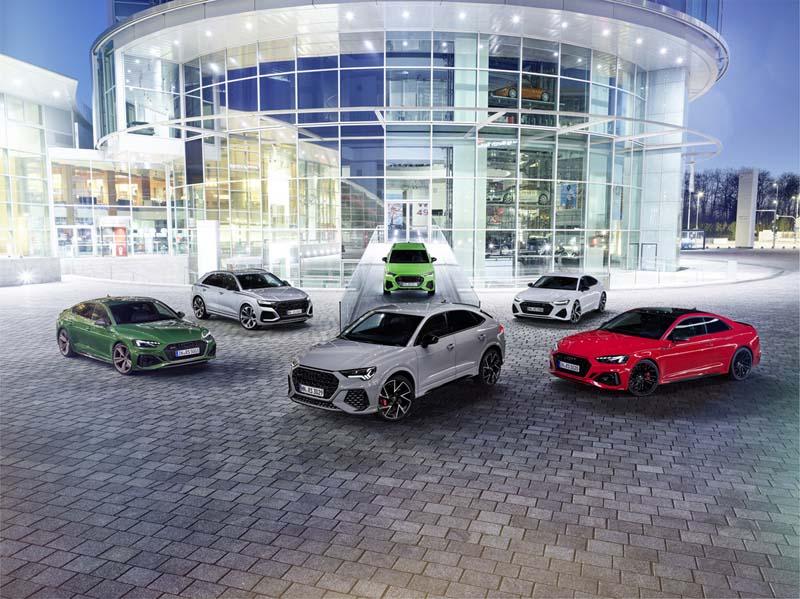Foto Gama Audi Quattro 40 Aniversario