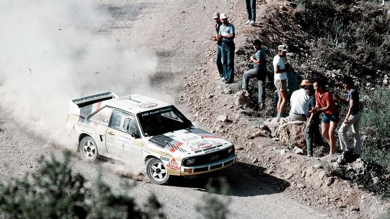 Foto Historicas Audi Quattro 40 Aniversario