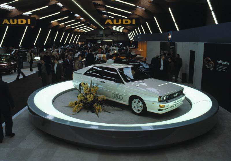 Foto Audi quattro