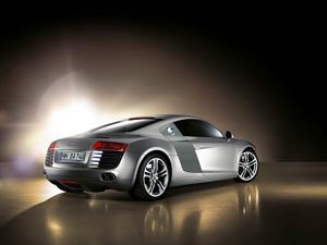 Audi R8 -foto trasera-