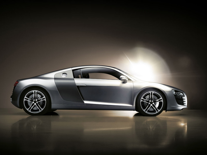 Audi R8 -foto lateral-