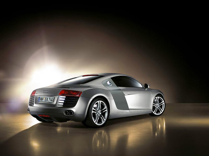 Foto Trasero Audi R8 Cupe 2009