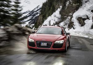 Foto Delantera Audi R8-e-tron Cupe 2013
