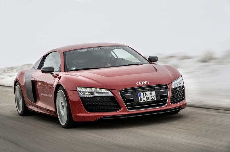 Foto Exteriores (1) Audi R8-e-tron Cupe 2013