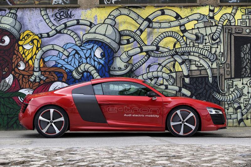 Foto Exteriores Audi R8 E Tron Cupe 2013