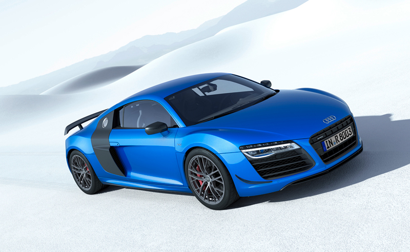 Foto Lateral Audi R8 Lmx Cupe 2014