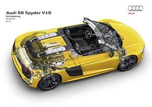 Foto Tecnicas (1) Audi R8-spyder Descapotable 2016