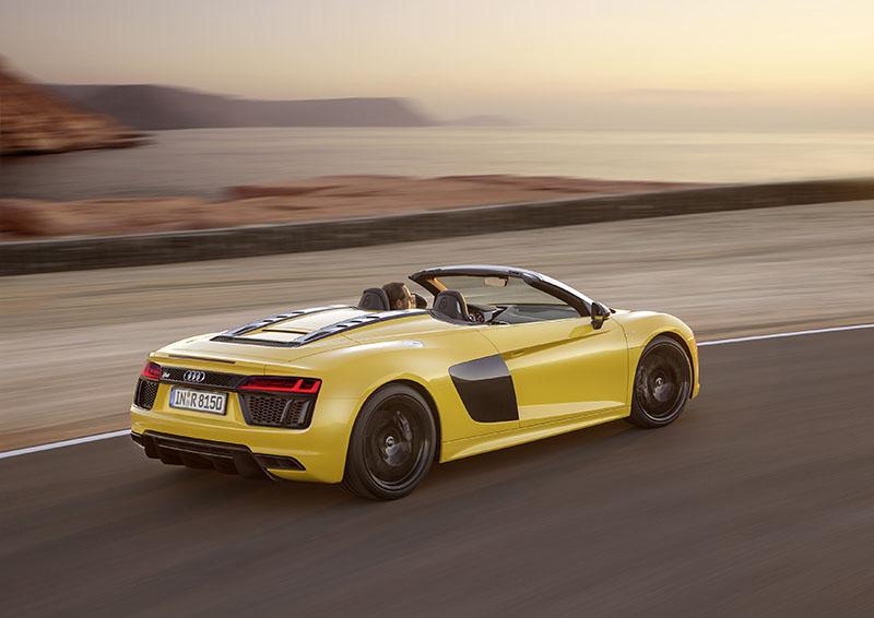 Foto Exteriores Audi R8 Spyder Descapotable 2016
