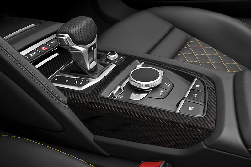 Foto Interiores Audi R8 Spyder Descapotable 2016