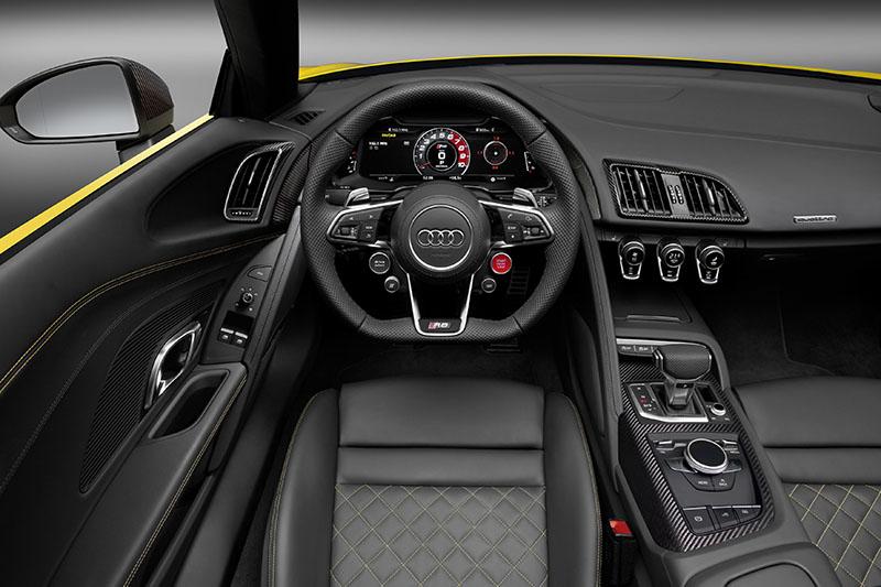 Foto Salpicadero Audi R8 Spyder Descapotable 2016