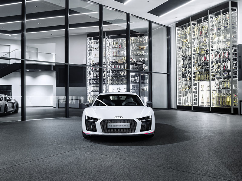 Foto Exteriores Audi R8 V10 Plus Selection 24 H Cupe 2016