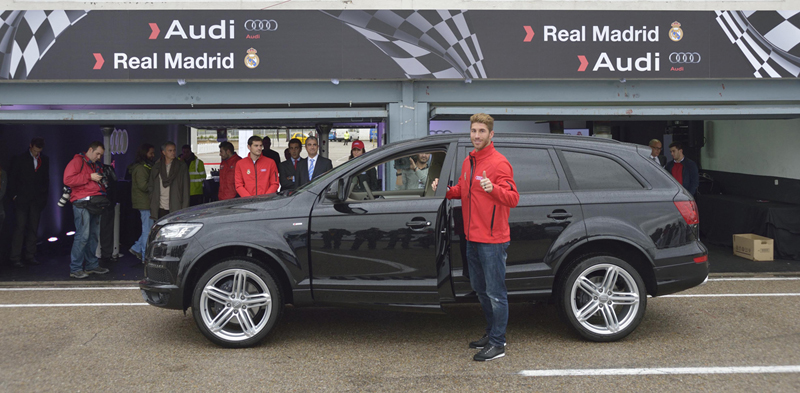 Foto Exteriores Audi Real Madrid 2012