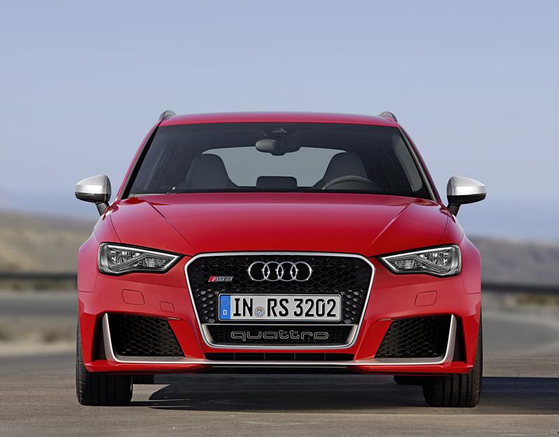 Foto Delantera Audi Rs3-sportback Dos Volumenes 2015