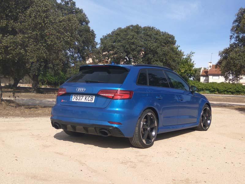 Foto Exteriores Audi Rs3 Sportback Dos Volumenes 2017