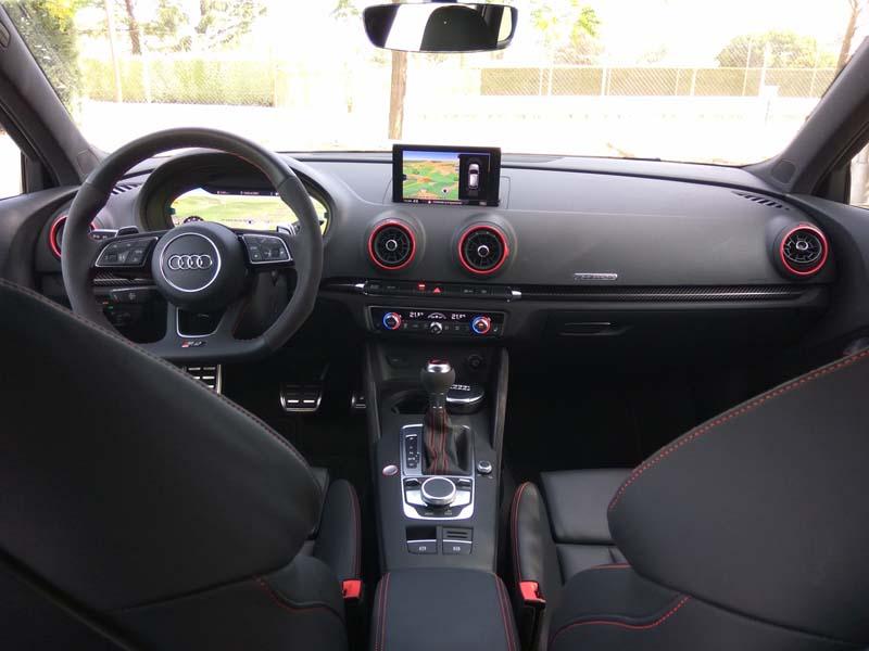 Foto Interiores (10) Audi Rs3-sportback Dos Volumenes 2017