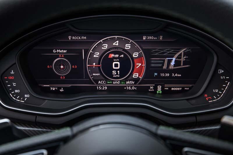 Audi RS4 Avant, foto cuadro de mandos virtual cockpit