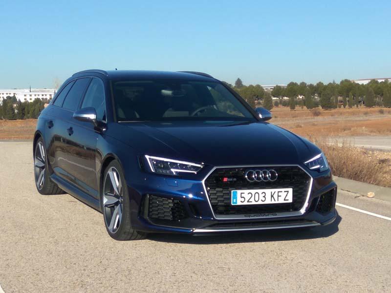 Foto Exteriores Audi Rs4 Avant Familiar 2018