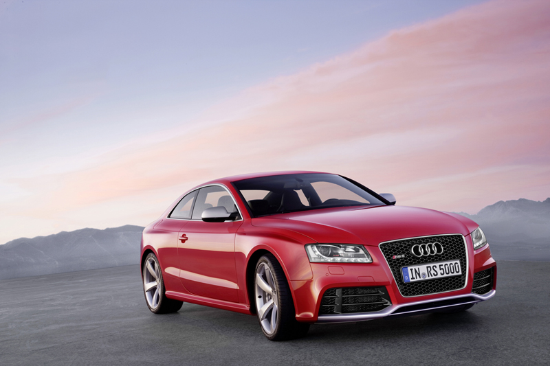 Foto Lateral Audi Rs5 Cupe 2010