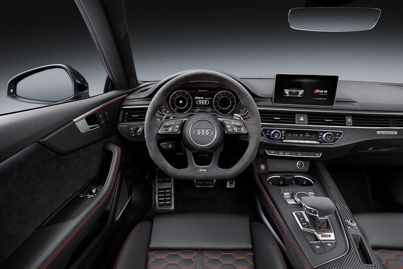 Audi RS5 Coupé 2017 salpicadero