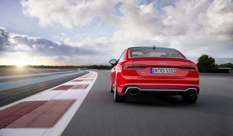Audi RS5 Coupé 2017 trasera