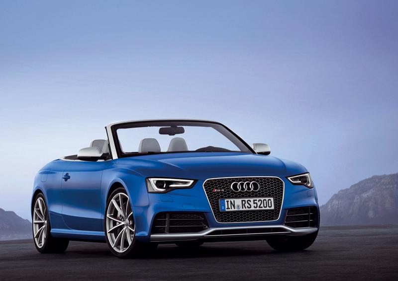 Foto Delantera Audi Rs5 Descapotable 2012