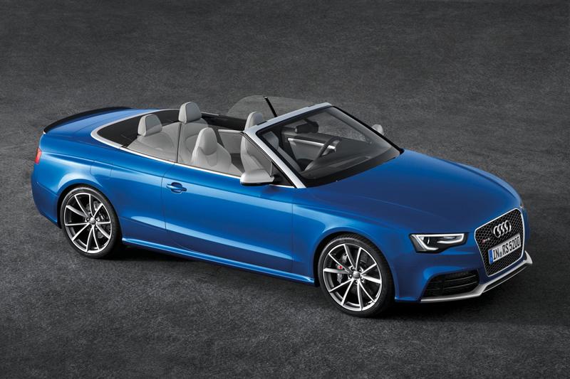 Foto Perfil Audi Rs5 Descapotable 2012