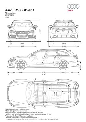Foto Tecnicas (1) Audi Rs6 Familiar 2012